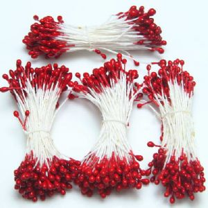 Flower stamen, Burgandy, 320 pieces [approximate], [ST929]